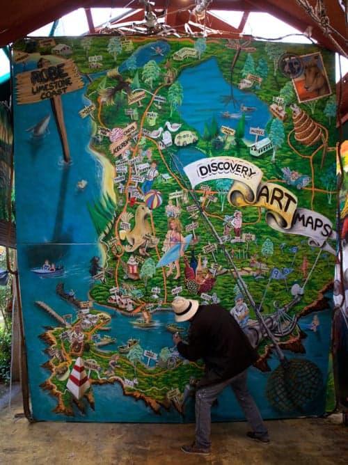 Neil Welsh - The original art map
